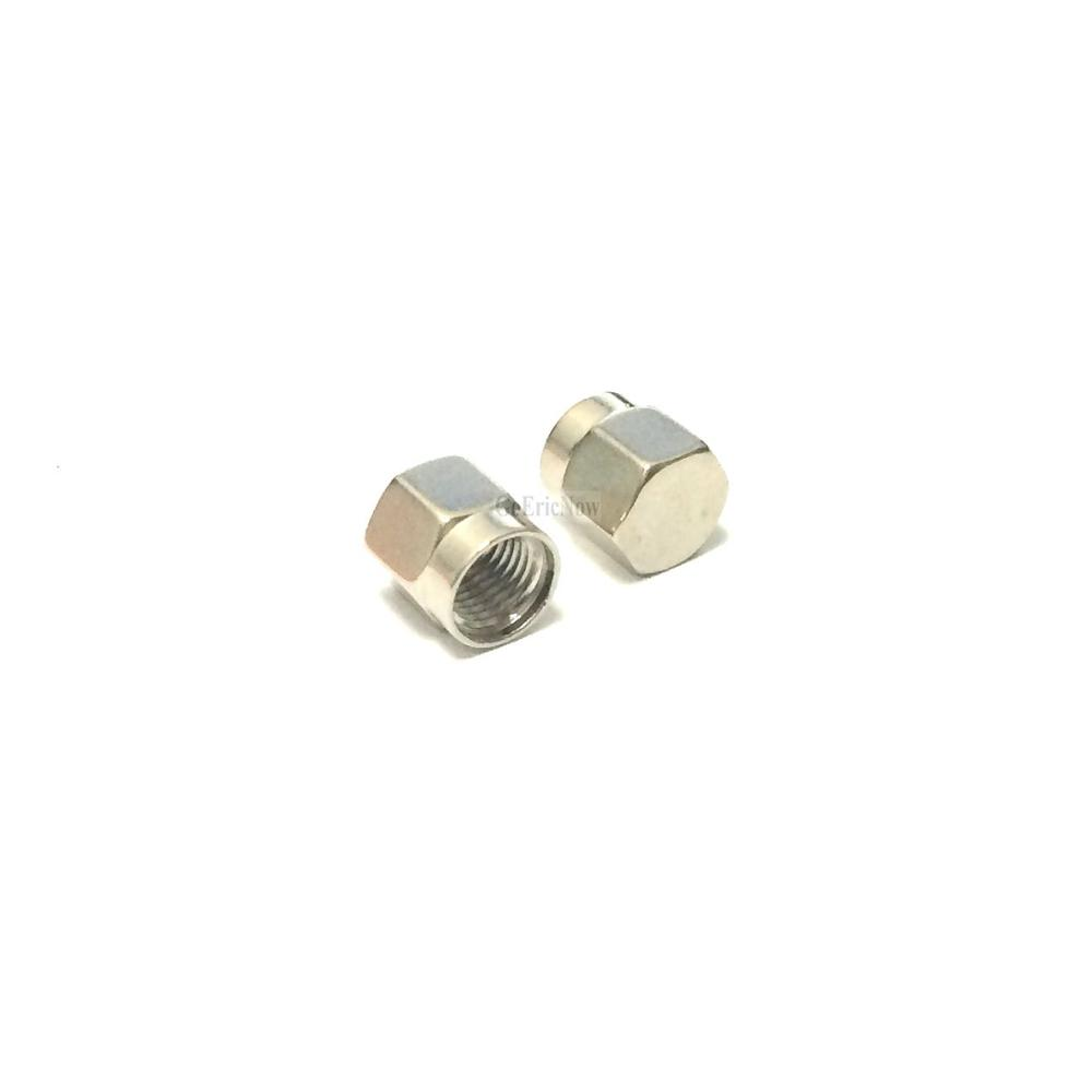 Image 5 - 20 pcs /lot RF Connector  SMA Dust cap without chain SMA metal protective cap Connector Plug-in Connectors from Lights & Lighting
