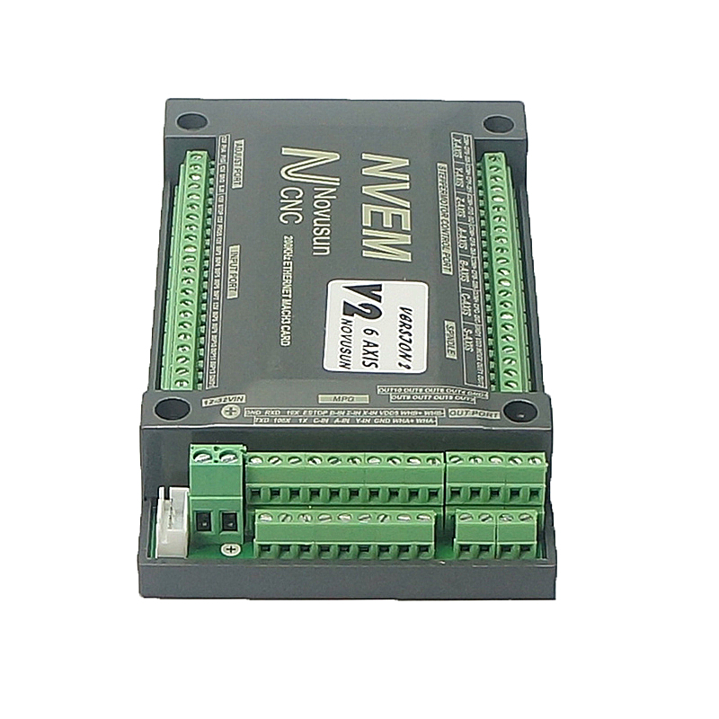 CNC controller card NVUM 4 Axis Mach3 Control USB Card 300KHz For router