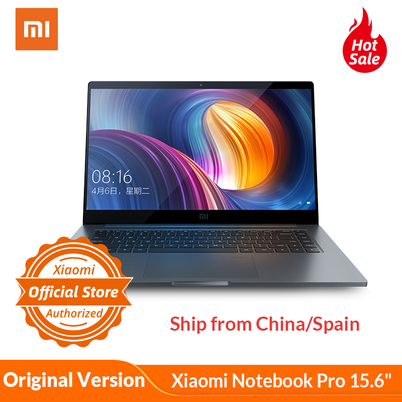 Xiaomi Notebook Pro 15.6 Intel Core I5 16G Ram 256GB SSD Windows 10 2G Dedicated Card 1920x1080 Fingerprint Recognition GDDR5