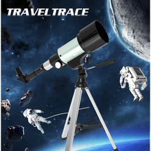 цена на Telescope Astronomique Professionnel HD Monocular 150X Refractive Space Astronomical Spotting Scope with Portable Tripod Lever