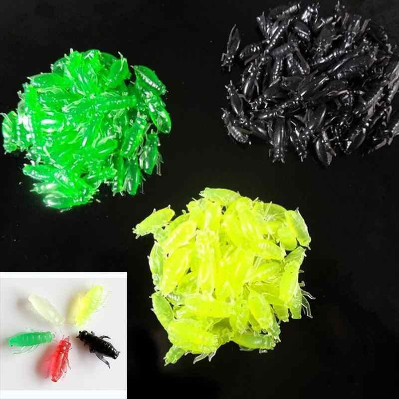 10 pezzi In Silicone Morbido Grasshopper Forma Esca Lure di Pesca All'ingrosso