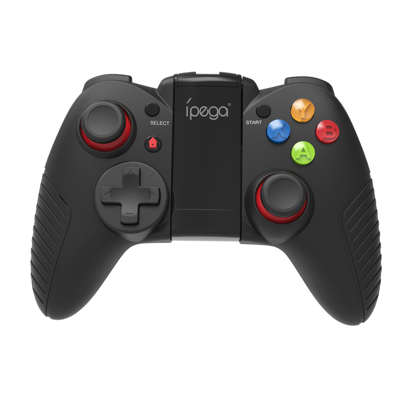 <font><b>iPega</b></font> PG-<font><b>9067</b></font> PG <font><b>9067</b></font> Wireless Gamepad Bluetooth Game Controller Joystick with Stretchable Phone Bracket Android Smart TV Box image