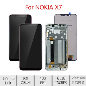 Image 2 - ORIGINAL For NOKIA 8.1 LCD Touch Screen Digitizer Assembly For Nokia 8.1 Display with Frame Replacement TA 1119 TA 1121 TA 1128