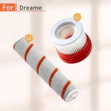 Dreame filtro HEPA para aspiradora V9, accesorios para aspiradoras de mano, kit de piezas de cepillo de rodillo