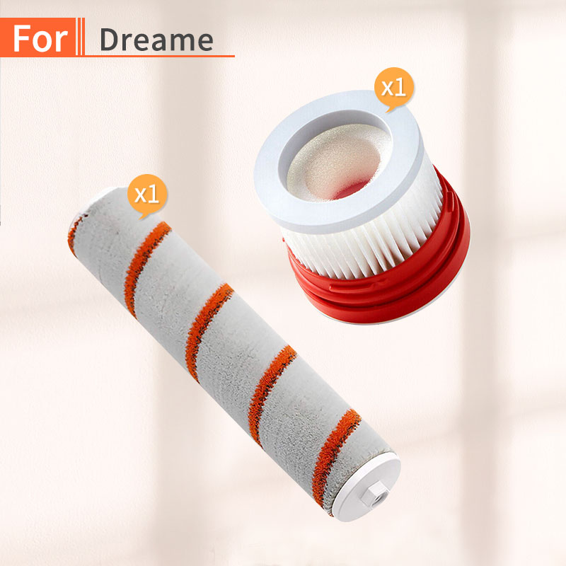 Vacuum Cleaner HEPA Filter For  Dreame V9 Household Wireless Handheld Vacuum Cleaner Accessories Roller Brush Parts Kit