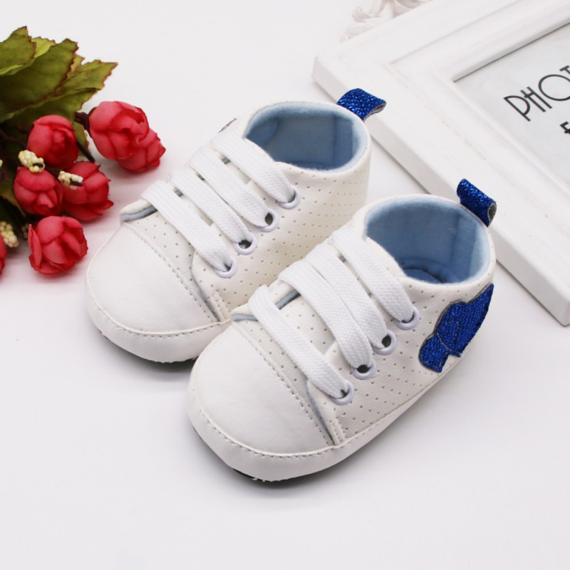 Baby Shoes Canvas Classic Sneakers Infant Toddler Anti-slip Soft Sole Crib Shoes Newborn Boys Girls First Walkers Sports Shoe