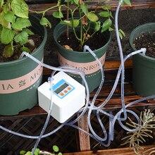 Новинка, автоматический полив для сада, таймер, система капельного орошения, водяной насос для растений в горшках, умные наборы для полива