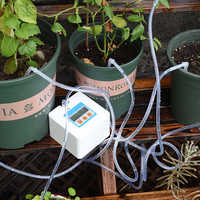 2020 New Garden DIY Automatic Watering-device Timer-system Drip-irrigation Water-pump Potted Plant Intelligent Watering Kits