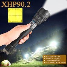 Самый мощный светодиодный фонарик xhp902 300000 лм тактический