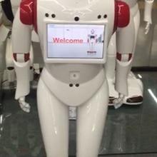Навигации обходом препятствий Смарт официантка робот Услуги доставки диалог робот
