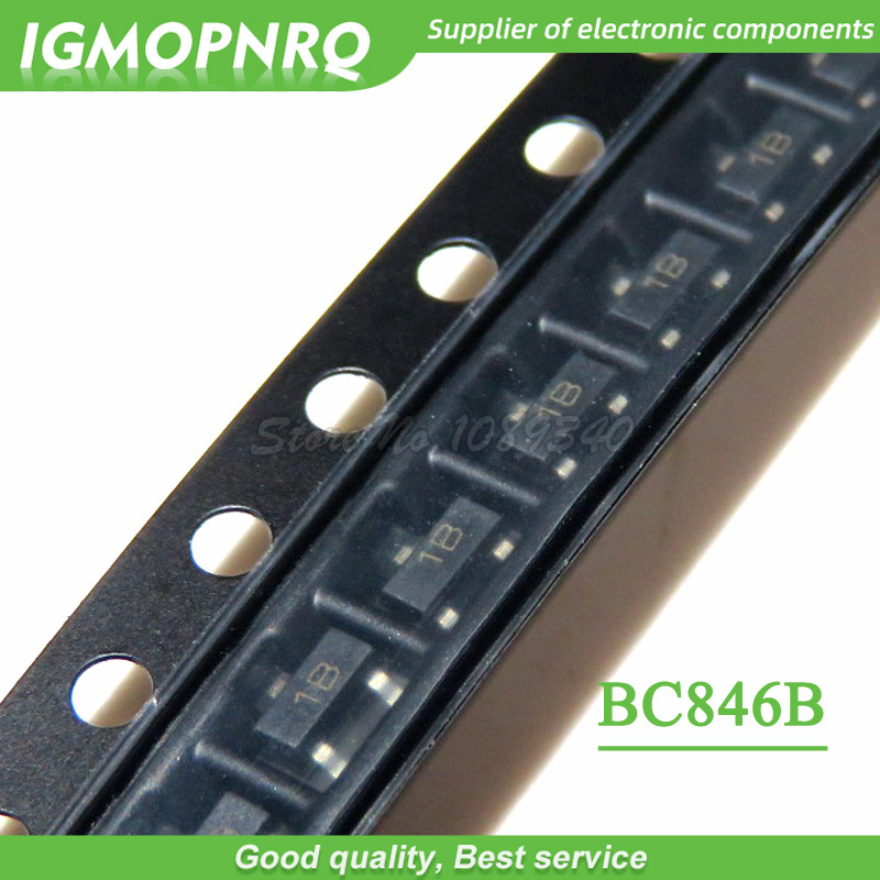50 шт. BC846B BC846 биполярные транзисторы-BJT транзистор 200 мВт SOT23-3 новый оригинальный