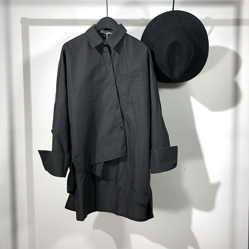 Owen Seak Men Casual Shirts High Street Style Men's Clothing Spring Male Autumn Shirts