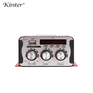 Image 2 - Kinter MA 600 مكبر صوت صغير الحجم الصوت مع راديو FM 2CH بلوتوث مكبرات الصوت DC12V SD USB المدخلات اللعب ستيريو الصوت سوبر باس