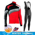 2020 NW invierno térmico de lana de manga larga de Ciclismo Jersey conjunto de Ropa de Hombre Ropa de bicicleta Maillot Ropa Ciclismo