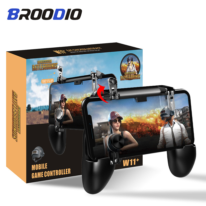 For Pubg Controller For Mobile Phone 3 In 1 L1R1 Game Shooter Trigger Fire Button For IPhone Android SmartPhone Gamepad Joystick