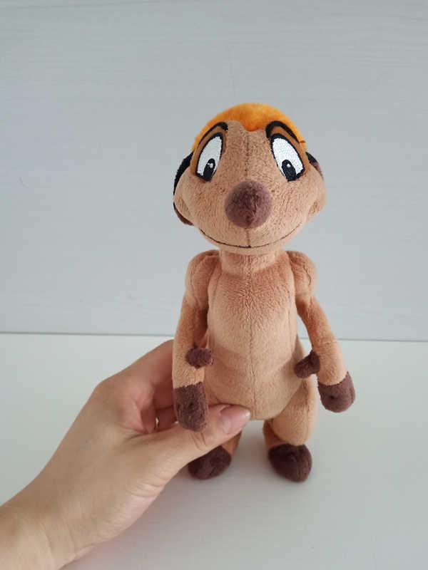 O leão rei mini timon brinquedo de pelúcia bonito animais de pelúcia 20cm 8 8 boys meninos meninas crianças brinquedos para presentes das crianças
