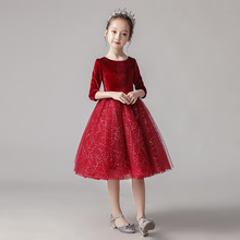 amzbarley girls dresses prom ball gown kids lace tulle wedding party dresses girls pageant formal dress 5 14 years BINIDUCKLING Party Dress For Kids Girls Flannel Lace Red Ball Gown 3T-9T Kids Girls Princess Evening Party Dance Dresses