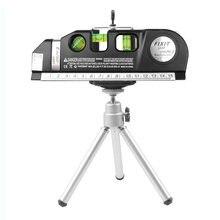 Nível multiuso horizonte laser medida vertical fita alinhador bolhas régua 8ft alinhador padrão e réguas métricas