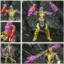 """ZD Toys Avenger 4 Endgame 8 """"Thanos 2019 фильм 20 см фигурка Бесконечность Gauntlet Legends оригинальная Кукла коллекционная"""