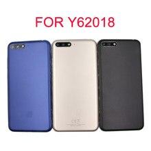 Funda trasera para Huawei Y6 2018, carcasa para puerta trasera, pieza de repuesto para batería, Y6 Prime 2018