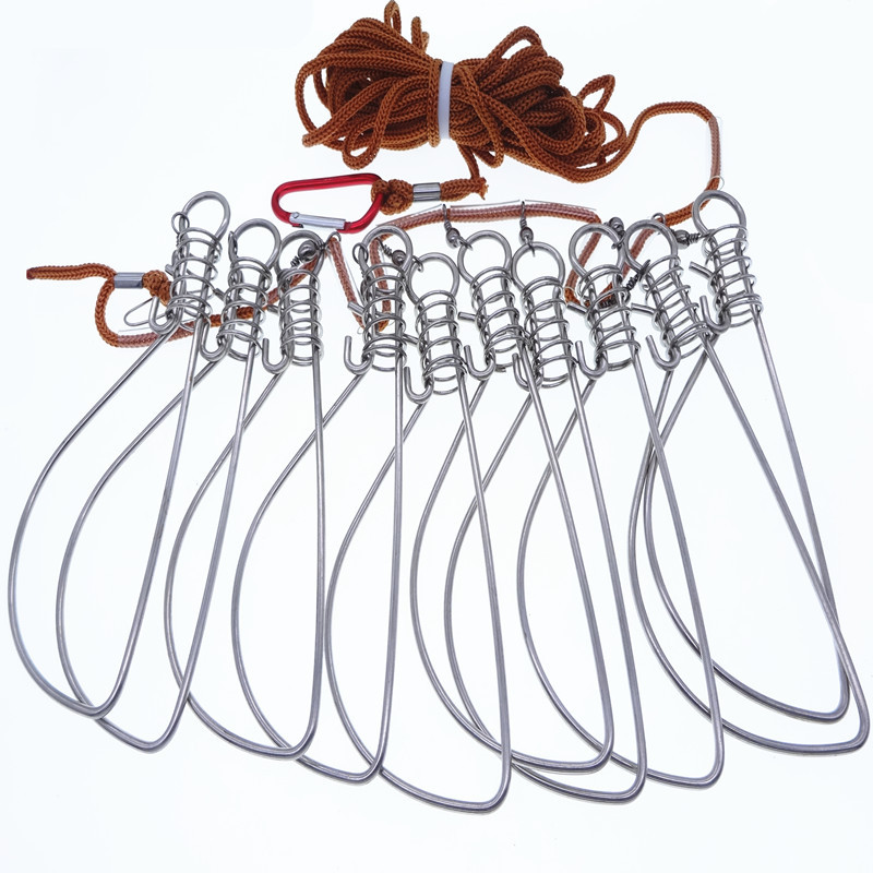 pesca equipamento de pesca acessorios aco inoxidavel 02