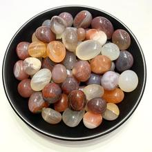 500g natural crystal stone non-red agate original raw stones mix