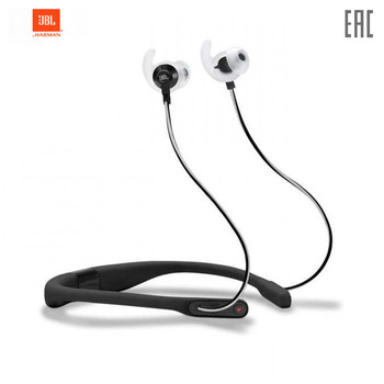 Earphones & Headphones JBL JBLREFFITBLK Portable Audio headset Earphone Headphone Video with microphone Synchros Reflect FIT Sport