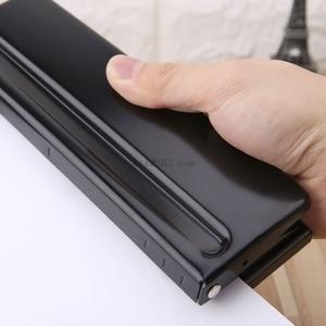 Image 3 - 6 delik yumruk kağıt zanaat kesici ayarlanabilir DIY A4 A5 A6 gevşek yapraklı kağıt Puncher Scrapbooking kırtasiye ofis malzemeleri