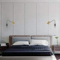 Post modern kişilik altın topu kasnak duvar lambası restoran bar oturma odası yatak odası duvar lambası