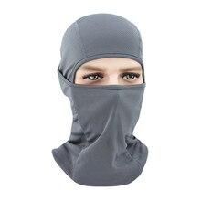 Унисекс Балаклава маска для лица мотоциклетная быстросохнущая дышащая Лыжная велосипедная шапка спортивные шапки полное покрытие для мотокросса защита для лица