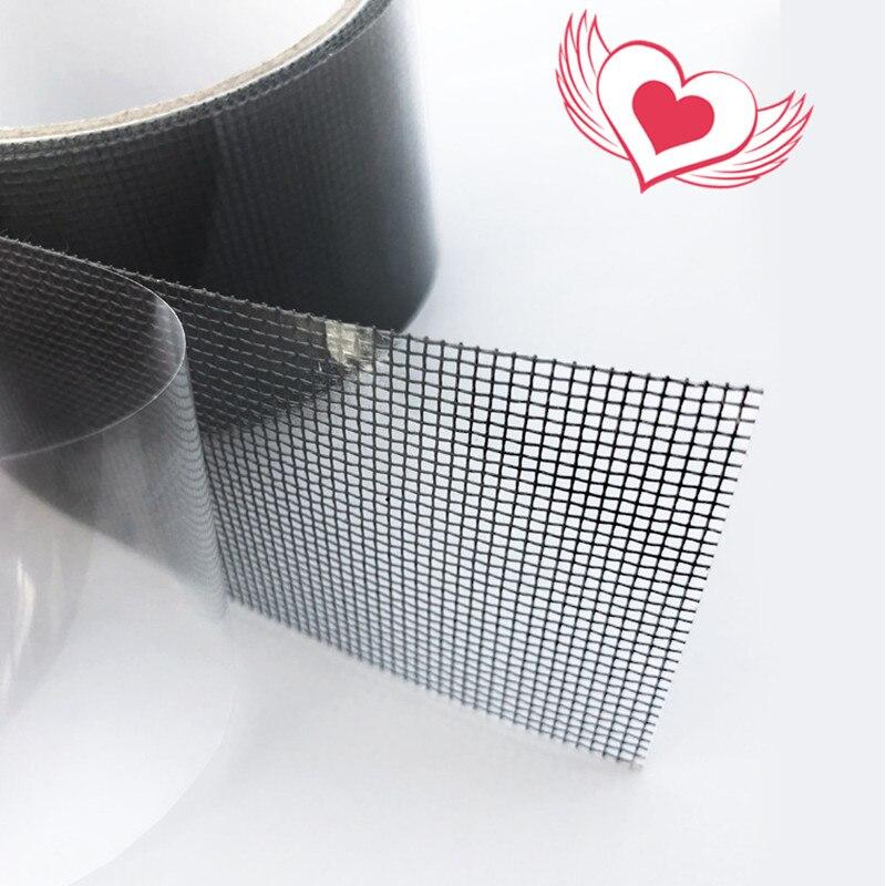 Новая оконная сетка для ремонта дверей, лента для ремонта москитных мух, насекомых, защита от насекомых, водонепроницаемая лента для ремонта, защита от комаров, 2 м|Противомоскитные сетки|   | АлиЭкспресс