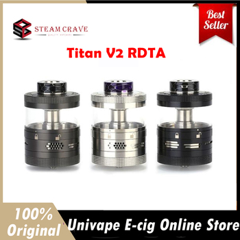 Buy 40% Discount Original Steam Crave Aromamizer Titan V2 RDTA Atomizer Rebuildable Tank
