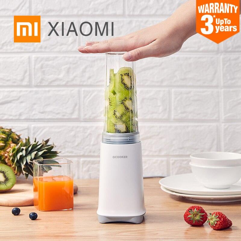 XIAOMI MIJIA QCOOKER CD-BL04 Blenders portable Fruit food processor electric kitchen mixer hand blender juicer chopper machine(China)