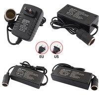 AC DC 220V Zu 12V Auto Adapter,2A 5A 6A 8A 10A Power Adapter Auto Zigarette leichter Konverter, inverter 110 220V 12V leichter UNS EU