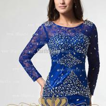 free Limited Shipping 2016 New Fashion Vestidos De Noiva Casamento Elegant Long Sleeve Moth