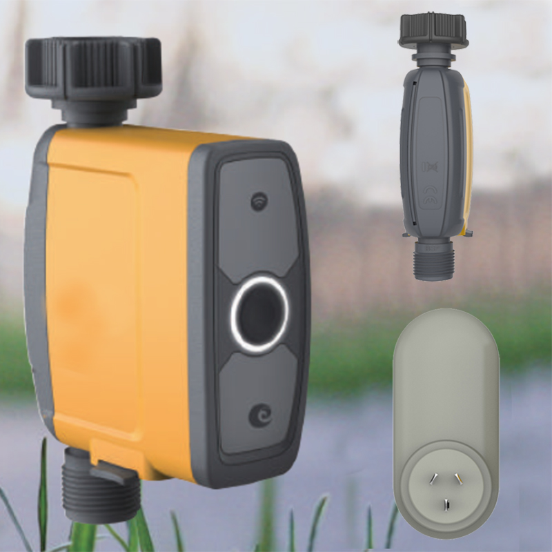 Garden-Irrigation-Controller Electronic-Watering-Timer WIFI Waterproof Automatic Outdoor title=