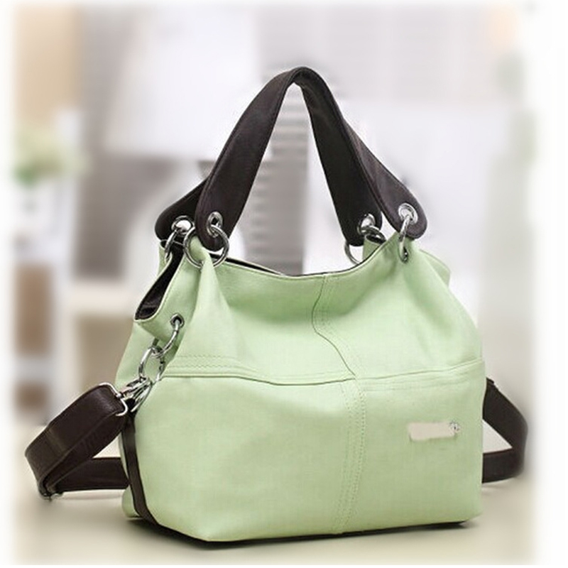 4 Colors New Arrival Vintage Women's Casual Soft PU Leather Handbag Tote Trendy Shoulder Bags Cross Body Bag