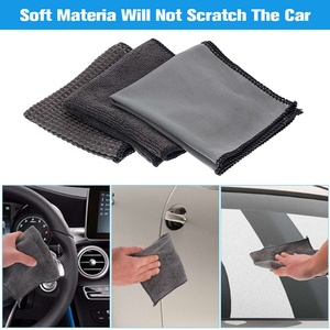 Image 2 - 9 Stks/set Auto Cleaning Tools Microfiber Handdoek Autoband Borstel Zachte Absorptie Handschoen Detaillering Auto Motorfiets Washer Care Set
