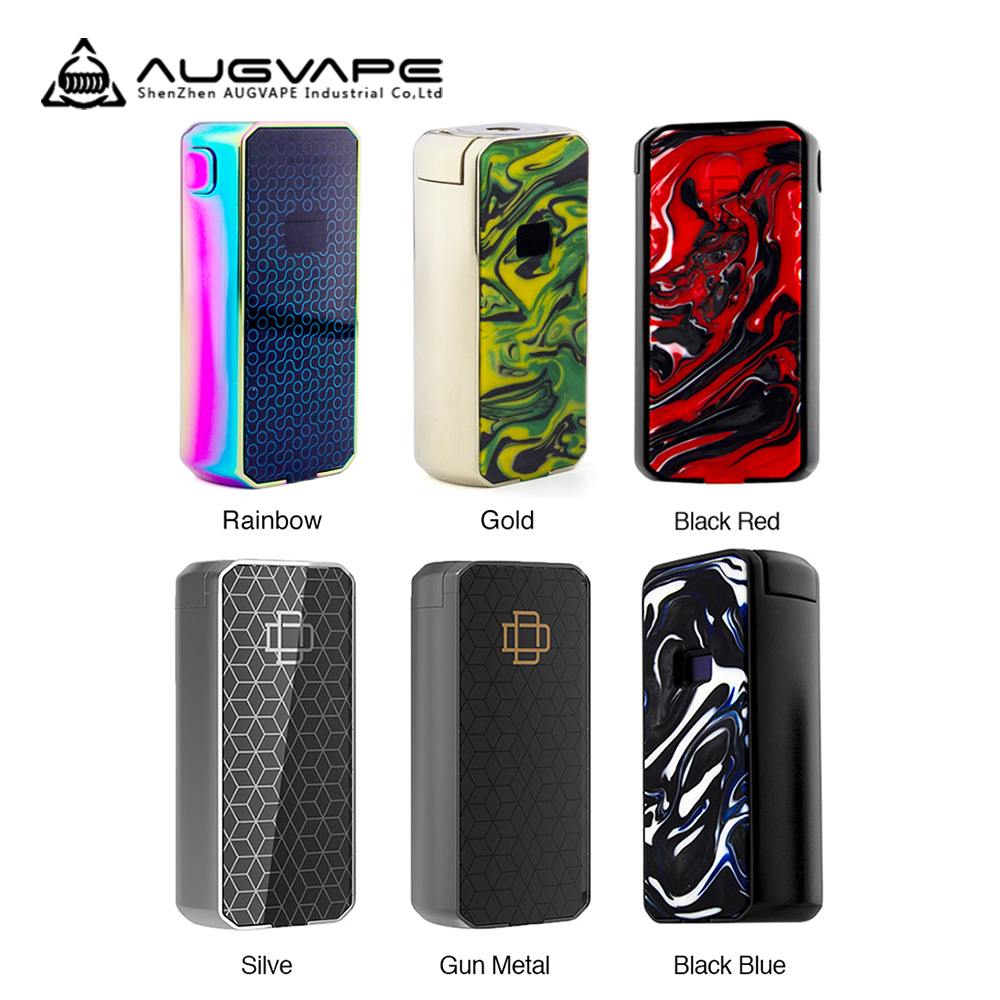 AUGVAPE Druga Foxy 150W VW Box MOD Wi/ Bright OLED Screen Display Powered By 2pcs18650 Batteries No Battery Vape Mod VS Drag 2