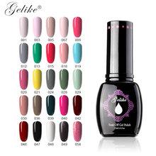 Gelike 15ml Nail art Gel UV Nagel Gel Polnisch 64 Farben langlebige UV Led Soak Off Gel mangel an LED UV