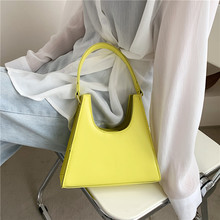 Small Solid Color PU Leather Bag Crossbody 2021 Summer Luxury Brand Shoulder Belt Design Female Handbags And Purses Totes