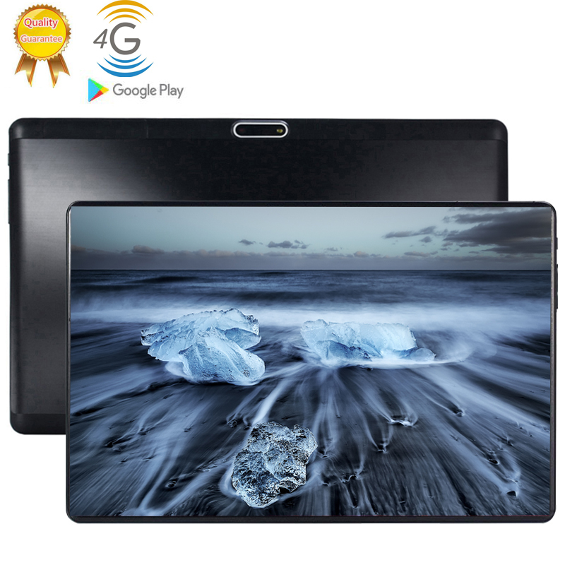 2020 Multi-touch Glass Screen 10.1 Inch Tablet Octa Core 4G FDD LTE Tablet 6GB RAM 128GB ROM Dual Cameras Android 9.0 Tablet 10
