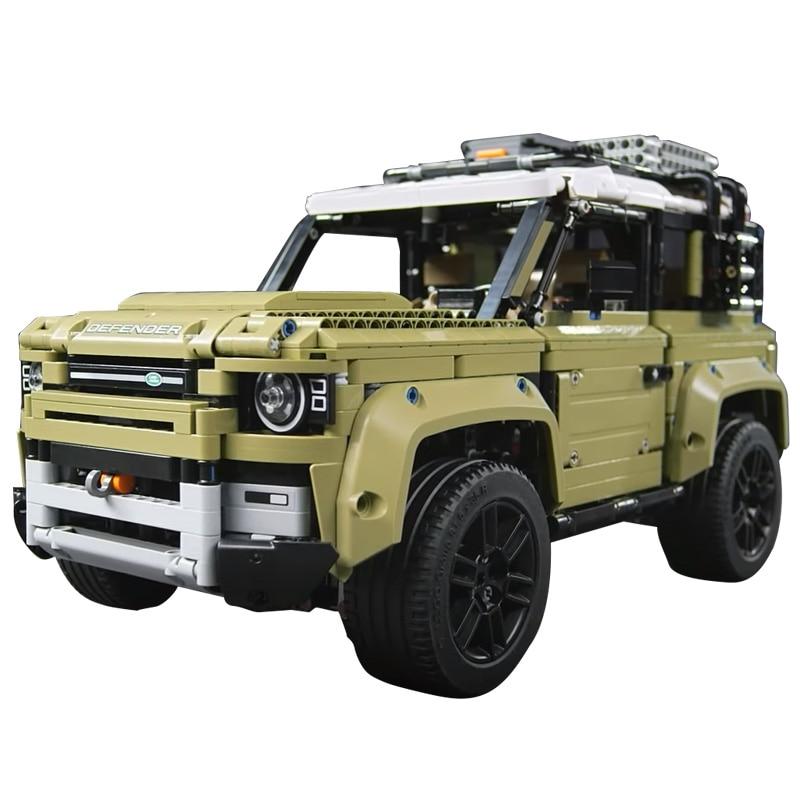 Image 5 - Technic игрушечный автомобиль, совместимый с Legoinglys 42110 Land Rover Defender, набор, Сборная модель автомобиля, строительные блоки, кирпичи, рождественский подарок, игрушка-in Блоки from Игрушки и хобби on AliExpress
