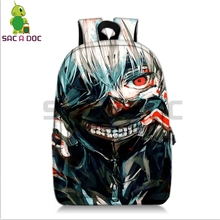 Tokyo Ghoul Kaneki Ken school bags for teenage girls laptop backpack travel Cosplay shoulder