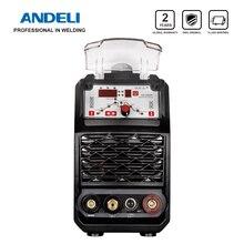 ANDELI умный портативный однофазный инвертор постоянного тока Импульсная Tig сварка точечная Сварка Tig сварочный аппарат Интеллектуальный Tig сварочный аппарат