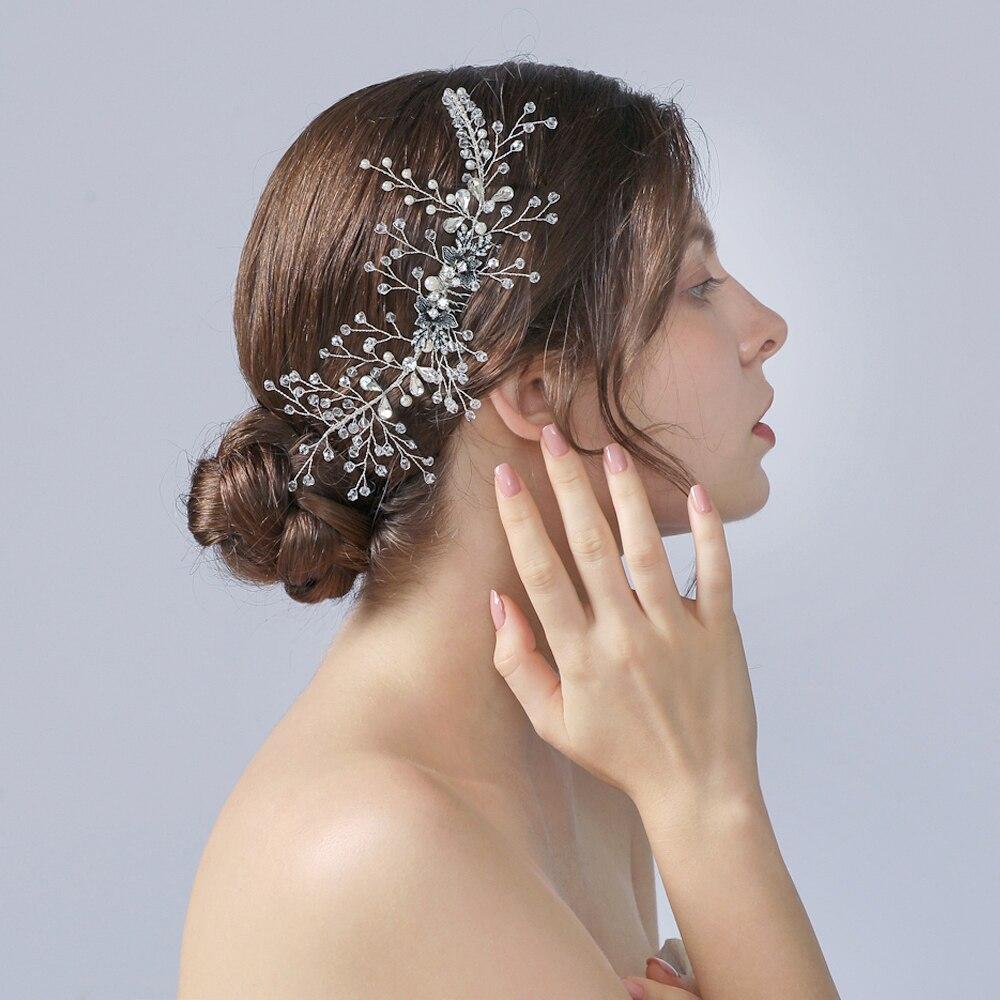 Bridal Headpiece Wedding Hair Comb Wedding Hair Accessories Bridal Hair Comb Bridal Comb Bridal Hair Crystal Wedding Comb
