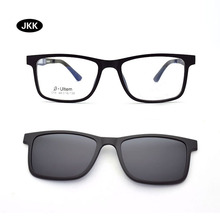 Ultra-light Narrow face Frame Childrens magnet Clip Myopia Glasses Lightweight Polarized Sunglasses Nvgs Small glasses  JKK015