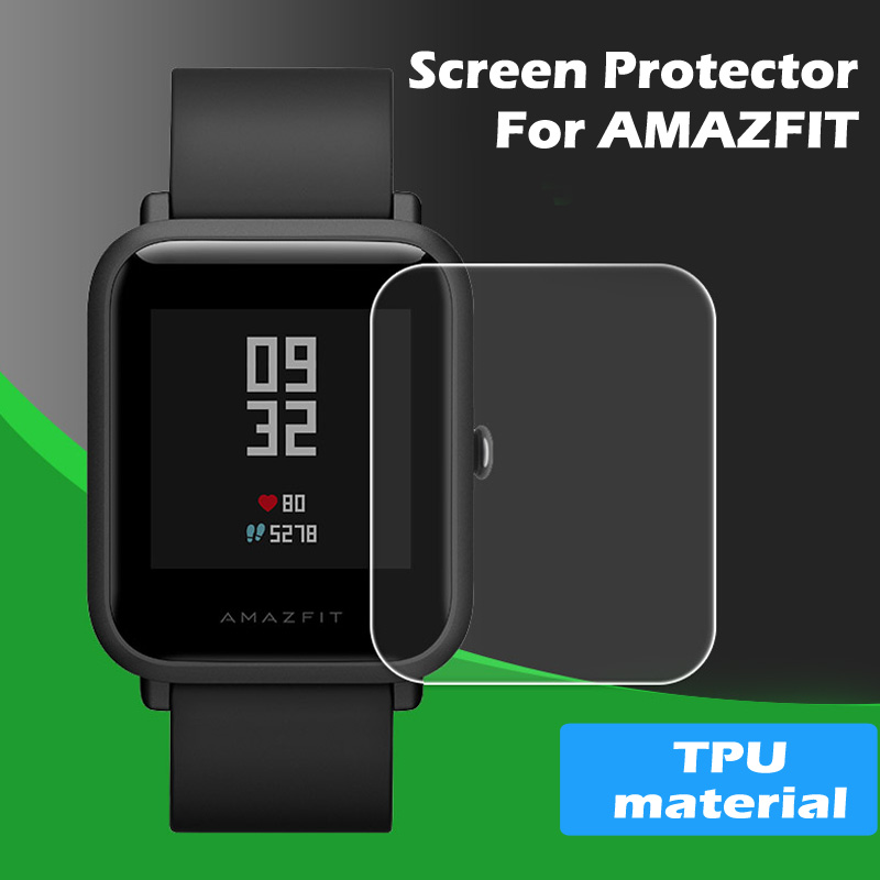 Screen-Protector Amazfit Watch HD TPU 1pcs for Huami Bip-Bit Youth-Edition Full-Screen
