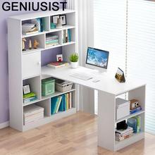 Lap De Oficina Mesa Escritorio biuro Scrivania Ufficio łóżeczko nocne biurko komputerowe podstawka do laptopa stół stołowy z regałem tanie tanio GENIUSIST NONE HOME CHINA Laptop biurko