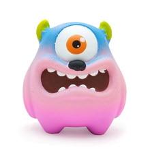 Jumbo grande olho adorável monstro squishies squishy macio lento subindo brinquedos de aperto para crianças adultas presente 11*8*10 cm